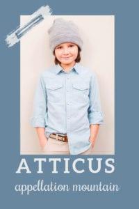 baby name Atticus