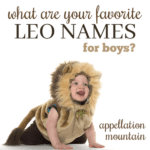 Leo Names: From Leonard to Leovanni