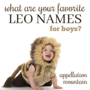 Leo Names