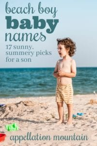 Beach Boy Baby Names