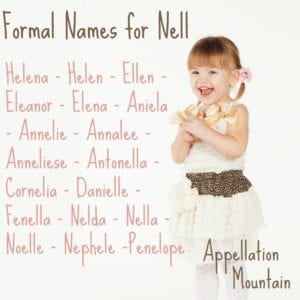 Formal Names for Nell