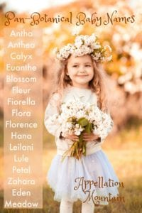 Pan-Botanical Baby Names