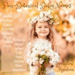 Pan-Botanical Baby Names: Blossom, Eden and Fleur