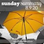 Sunday Summary 8.9.20