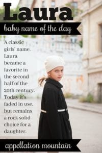 Laura: Baby Name of the Day