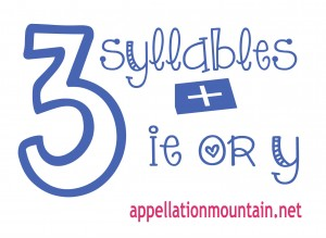 3syllables