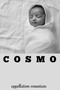 baby name Cosmo