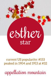 Esther: Baby Name of the Day
