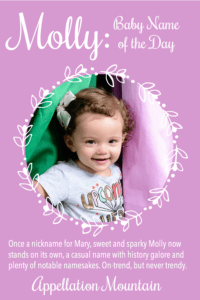 Molly: Baby Name of the Day