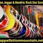 Lennon, Jagger & Hendrix: Rock Star Names