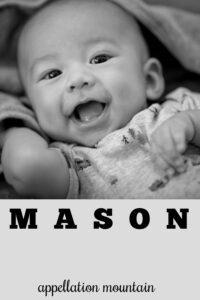 baby name Mason