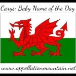 Carys: Baby Name of the Day