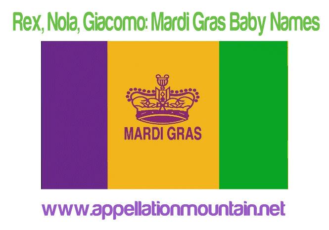 Mardi Gras Baby Names