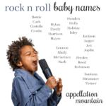 Rock Star Baby Names: Lennon, Jagger, Hendrix