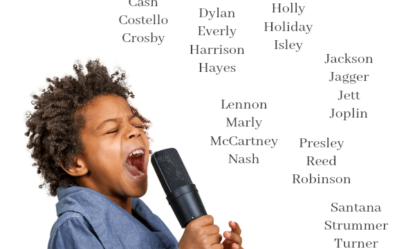 Rock Star Baby Names