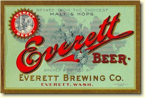 Everett beer label