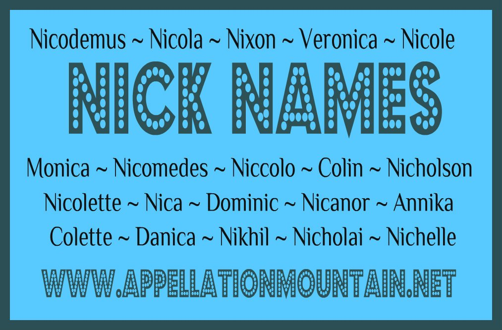 Good nicknames for blondes