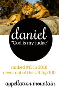 Daniel: Baby Name of the Day