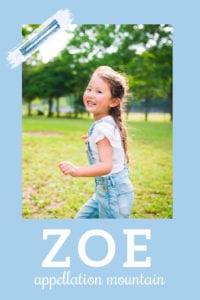 baby name Zoe