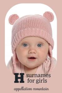 H surnames for girls