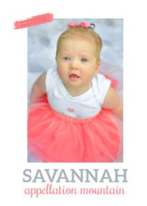 baby name Savannah