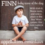 Finn: Baby Name of the Day