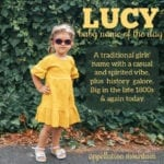 Lucy: Baby Name of the Day
