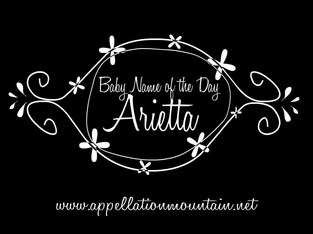 Meaning of name blanche - Arietta Baby Name Of The Day