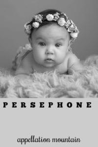 girl name Persephone