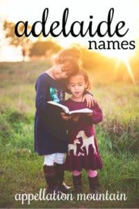 Adelaide names
