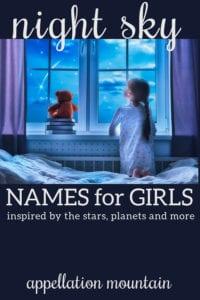 night sky girl names