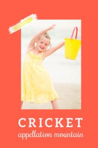 baby name Cricket