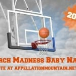 Favorite Names for Boys: March Madness 2014 FINAL!
