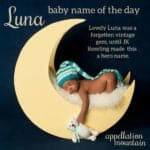 Luna: Baby Name of the Day