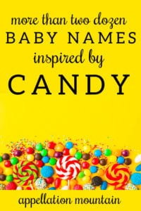 candy baby names