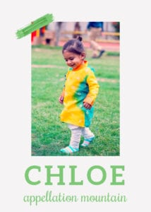 baby name Chloe