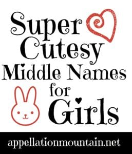 Cutesy Middle Names