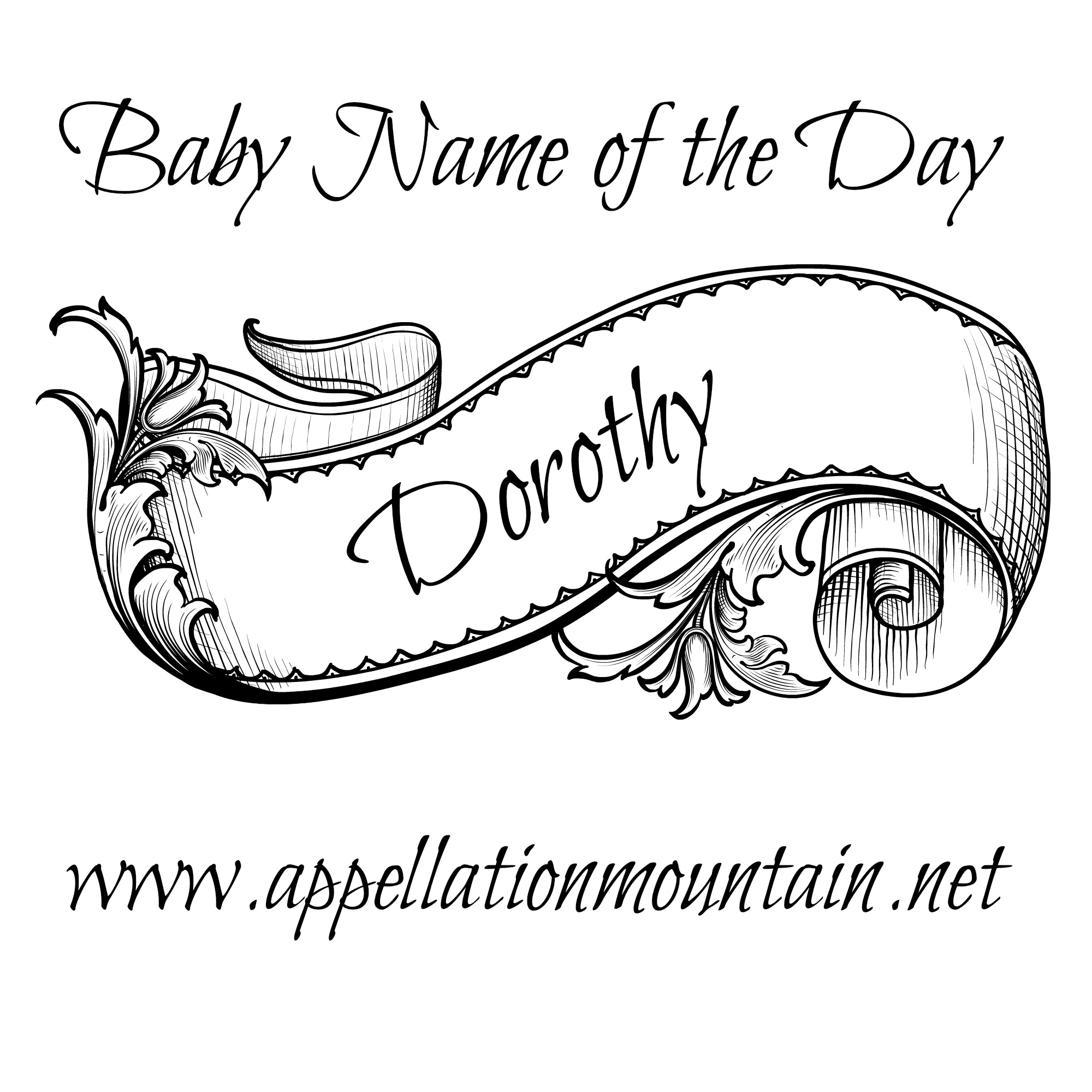 cecily baby name of the day appellation mountain Cicely Tyson 1960 dorothy baby name of the day