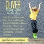 Oliver: Baby Name of the Day