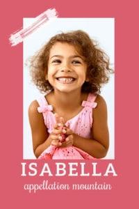 baby name Isabella