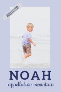 baby name Noah
