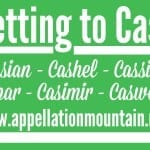 Cassian, Cassius, and Cashel: Getting to Cash