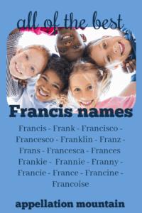 Francis names