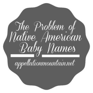 Native American baby names