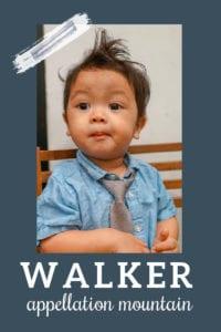 baby name Walker