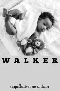 boy name Walker