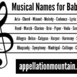 Aria and Lyric: Musical Baby Names
