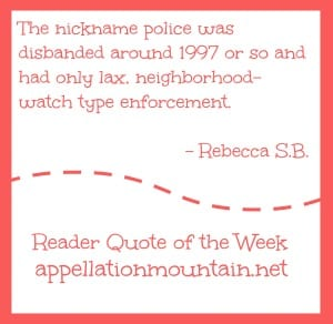 Reader Quote of the Week