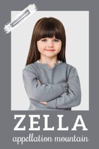 baby name Zella