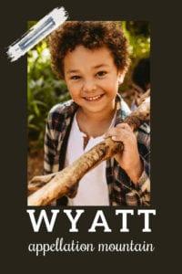 baby name Wyatt